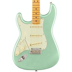 Fender American Pro II Stratocaster LEFT HANDED  - Mystic Surf Green / Maple