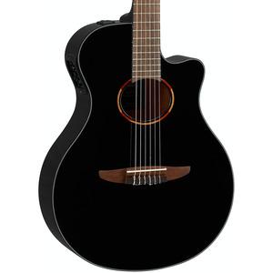 Yamaha NTX1 Electro Nylon Guitar  - Black