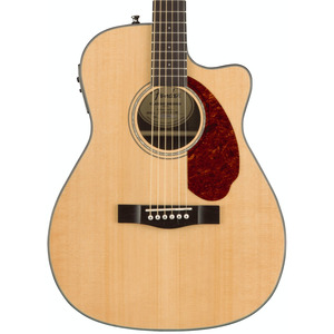 Fender CC140SCE Acoustic Electric Guitar With Hardcase - Natural
