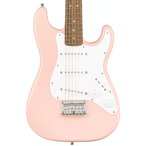 Squier Mini 3/4 Size Electric Guitar v2 - Shell Pink