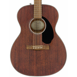 Fender CC60S Solid Top Concert Acoustic Guitar - Mahogany