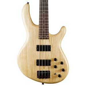 Cort Action Deluxe AS 4-String Bass - Open Pore Natural