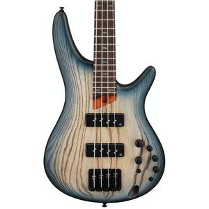 Ibanez SR600E Bass Guitar  - Cosmic Blue Starburst Flat