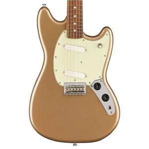Fender Mustang Electric Guitar - Metallic Gold / Pau Ferro
