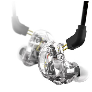 Stagg In Ear Stage Monitor Headphones - Clear