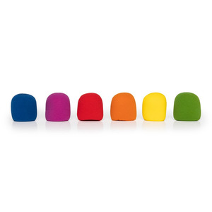 Stagg Foam Windscreen For SM58 - Coloured 6 Pack