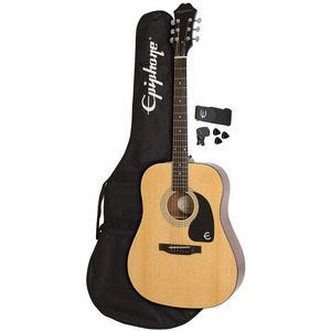 Epiphone FT100 Acoustic Guitar Player Pack Bundle