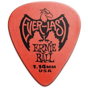 Ernie Ball Everlast Delrin Picks 12 Pack - Red 1.14mm