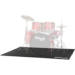 Stagg Deluxe Drum Rug Matt - 180cm x 150cm