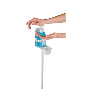 K&M Tall Hand Sanitiser Stand Station