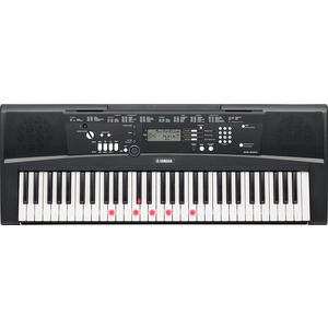 Yamaha EZ220 Keyboard with Key Lighting