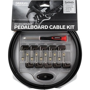 Planet Waves Cable Station Pedal Board Patch Cable Kit