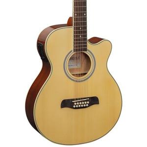 Brunswick Electro Acoustic 12 String - Natural - Natural