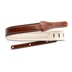 "Taylor Renaissance Guitar Strap - 2.5"" Medium Brown"