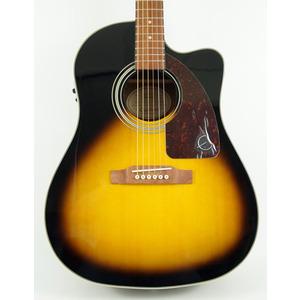 B-STOCK Epiphone AJ-210ce Acoustic Guitar Outfit inc. Hard Case - Vintage Sunburst