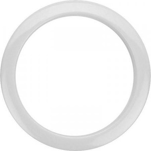 "Bass Drum O's Sound Hole Ring White - 5"" For Evans"