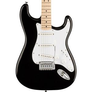 Squier Affinity Strat Electric Guitar - Black / Maple