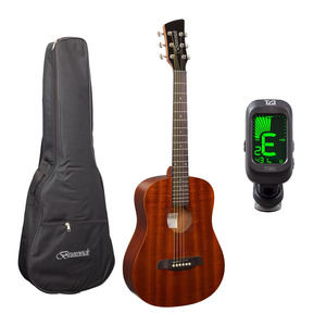Brunswick BT200 3/4 Acoustic Guitar and Tuner Package - Mahogany