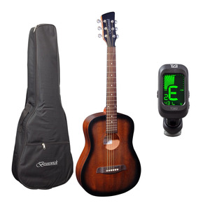 Brunswick BT200 3/4 Acoustic Guitar and Tuner Package - Tobacco Burst