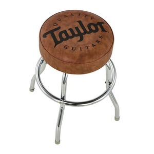 "Taylor Barstool 24""  with Taylor Logo in Brown"