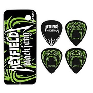 Jim Dunlop Hetfield Black Fang Pick Tin