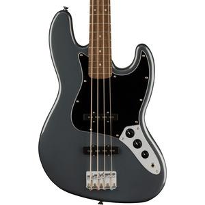 Squier Affinity Jazz Bass - Charcoal Frost Metallic/ Laurel