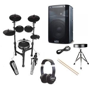 Carlsbro CSD130M Compact Electronic Drum Kit Bundle Deal