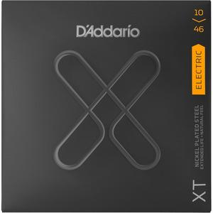 D'Addario XT Coated Nickel Electric Guitar Strings - 10-46