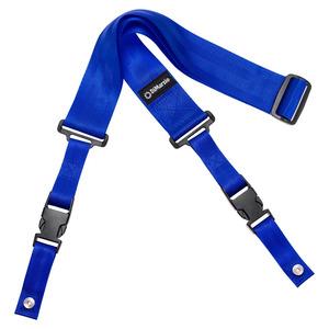 """Dimarzio DD2200N Clip Lock 2"""" Nylon Strap - Blue"""