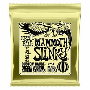 Ernie Ball Mammoth Slinky Electric Guitar Strings 12-62