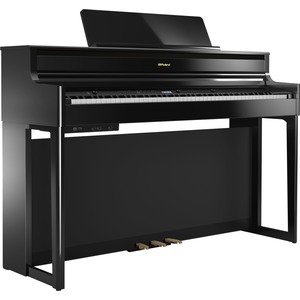 Roland HP704 Digital Piano - Polished Ebony