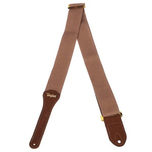 Taylor GS Mini Cotton Guitar Strap - Tan