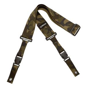 """Dimarzio DD2200N Clip Lock 2"""" Nylon Strap - Camouflage"""