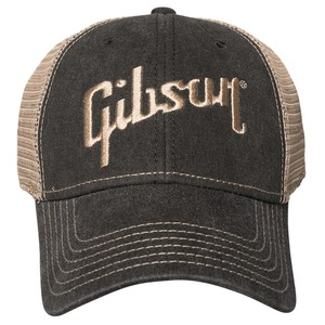 Gibson Faded Denim Cap