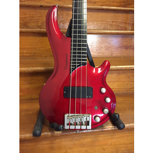SECONDHAND Tanglewood Curbow 4 String Bass - Metallic Red