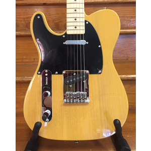 SECONDHAND Squier Affinity Telecaster Left Handed - Butterscotch Blonde - Maple Neck