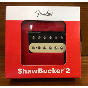 SECONDHAND Fender Shawbucker 2 Humbucking pickup, Zebra, Made in USA