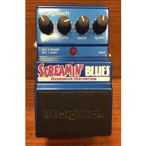SECONDHAND Digitech Screamin Blues Overdrive Pedal