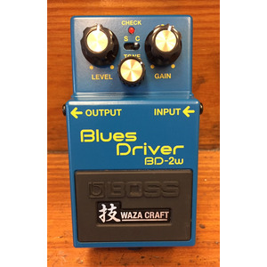 SECONDHAND BOSS BD-2W Wazacraft Blues Driver Overdrive