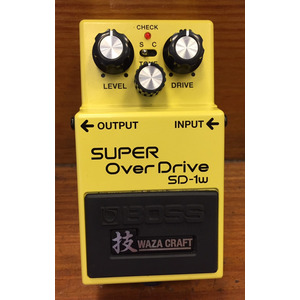 SECONDHAND Boss SD-1W Waza Craft Overdrive pedal