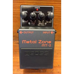 SECONDHAND BOSS MT-2 Metalzone pedal