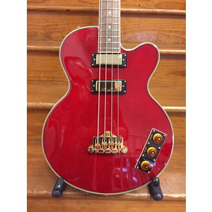 SECONDHAND Allen Woody Rumblekat inc hardcase - Wine Red