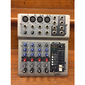 SECONDHAND Peavey PV6 6 Channel Mixer