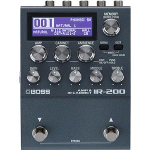 BOSS IR-200 Amp Modeller and Cabinet Impulse Response Pedal
