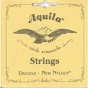Aquila Nylgut Ukulele String Set - Baritone DGBE Tuning with 2 Wound Strings (21U)