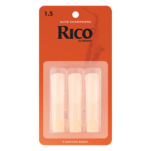 Rico Alto Sax Reed - 3 Pack