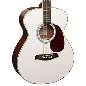 Brunswick BF200 Acoustic Guitar - White