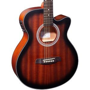 Brunswick BTK50 Electro Acoustic Guitar - Tobacco Sunburst