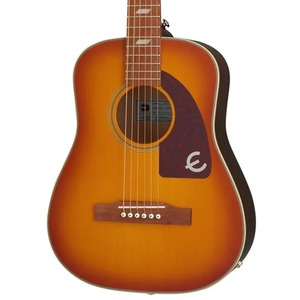 Epiphone Lil' Tex Electro Acoustic - Faded Cherry Sunburst