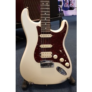 SECONDHAND Fender American Deluxe HSS Strat - Olympic Pearl